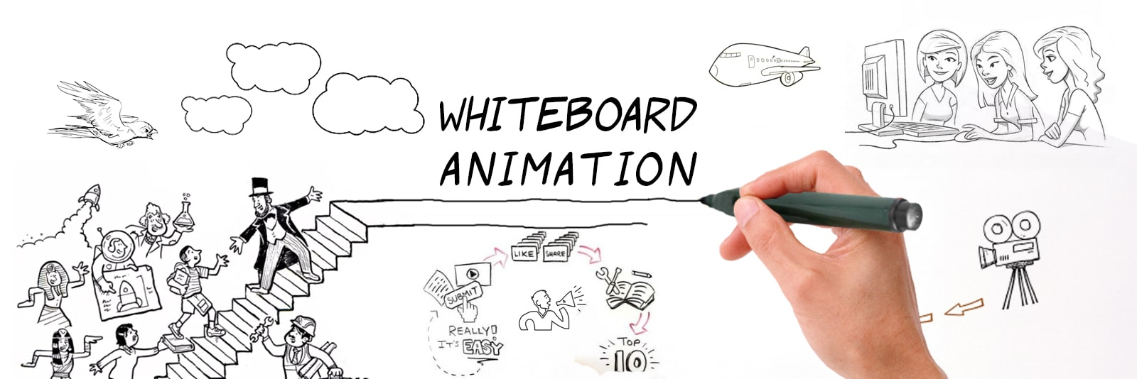 5 Important Elements of Whiteboard Explainer Videos
